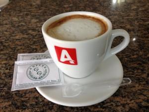 Um cafezinho em Brusque, SC - Brasil
