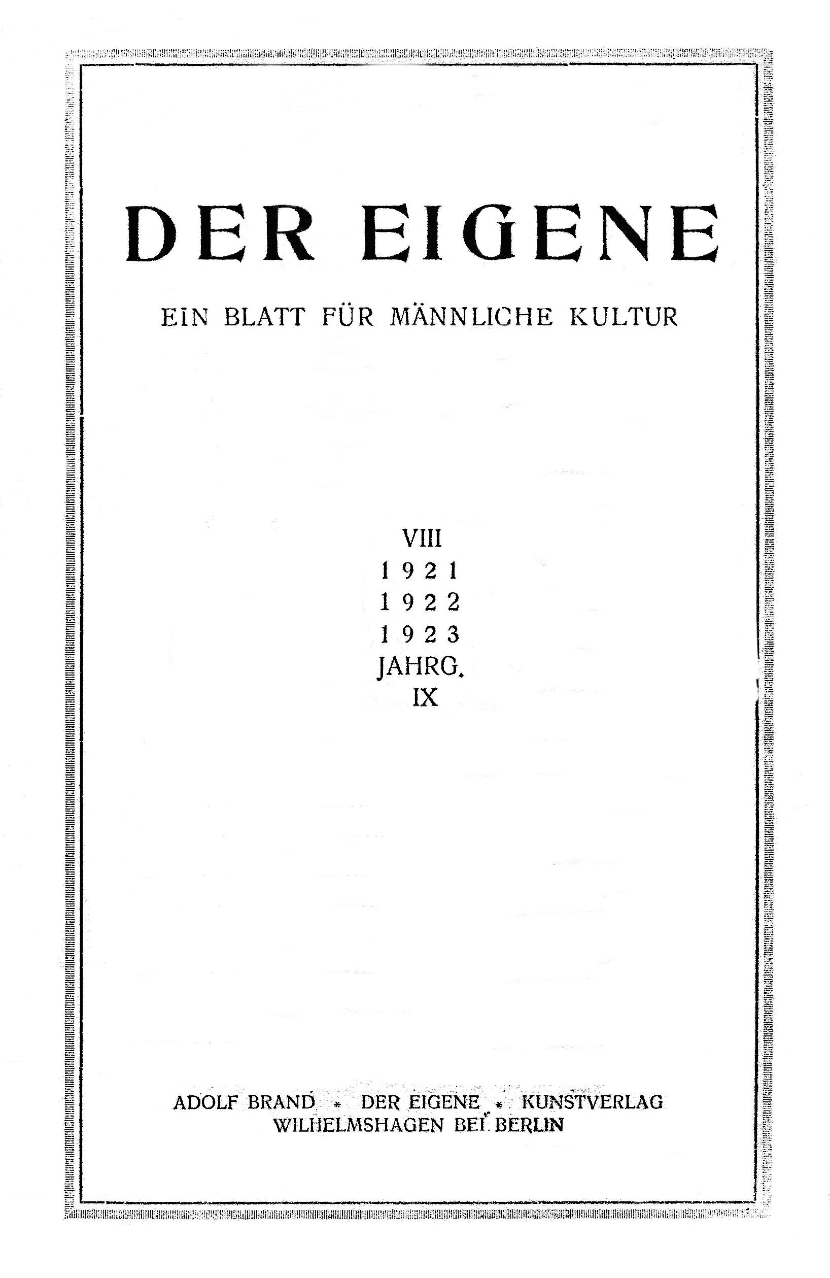 Der_Eigene_1921-22-23_vol_9